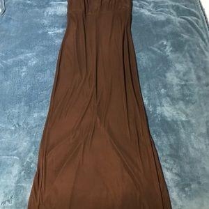 Maurices slinky black maxi dress
